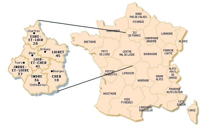 Carte De France Chantilly   popkensburg